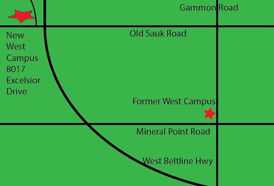 West Campus Map The Clarion