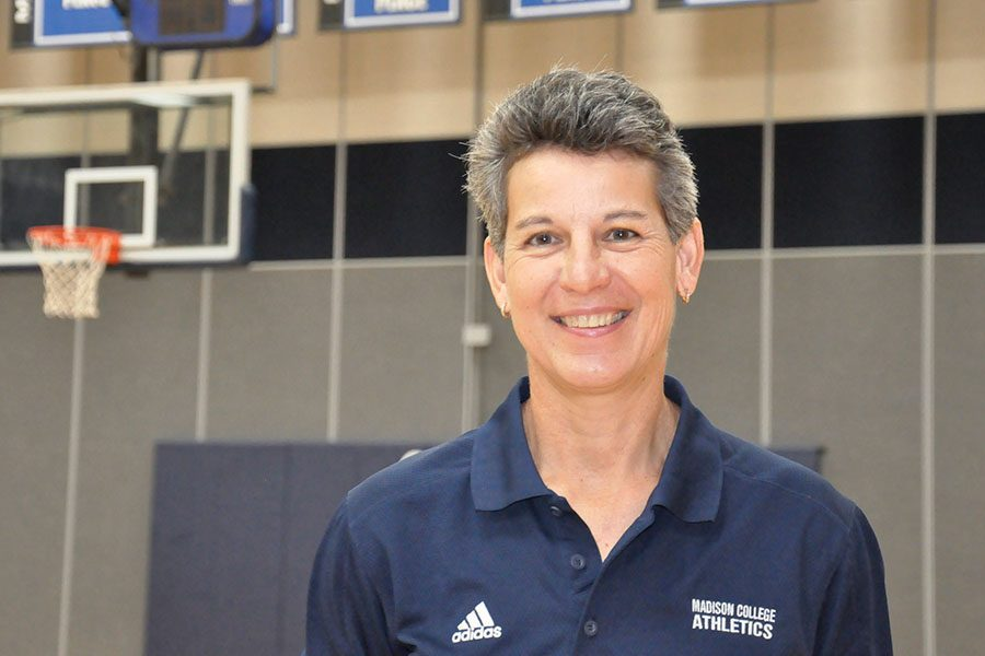 Lois Heeren is in her first season as Madison College women's basketball coach. She comes to Madison College from UW-La Crosse, where she was the winningest women's basketball coach in school history.