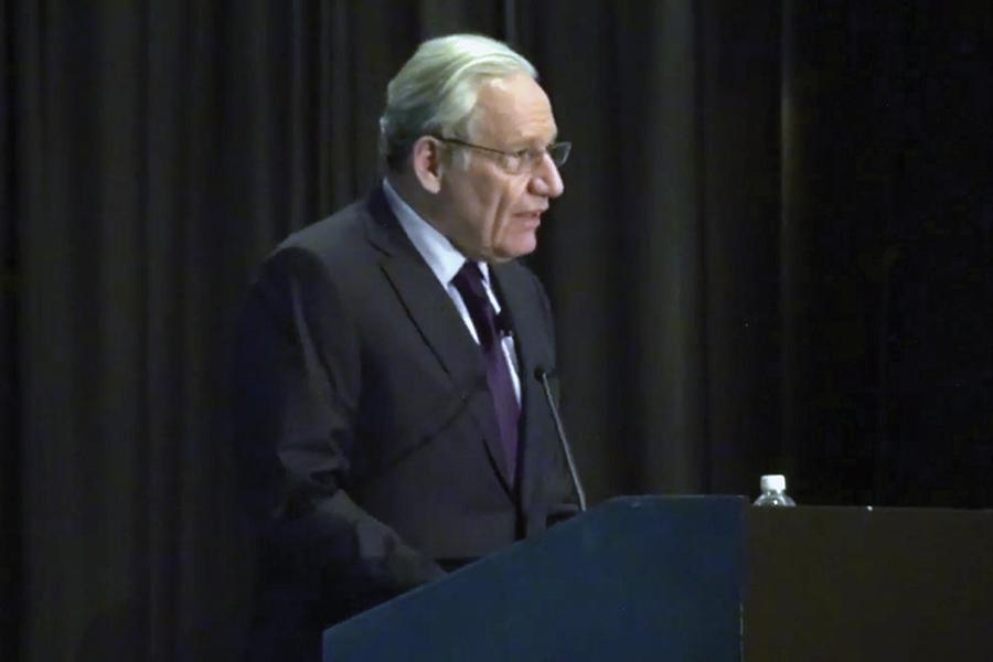 Legendary journalist Bob Woodward was one of keynote speakers at the ACP National College Media Convention.