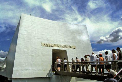 Visiting the Pearl Harbor memorial