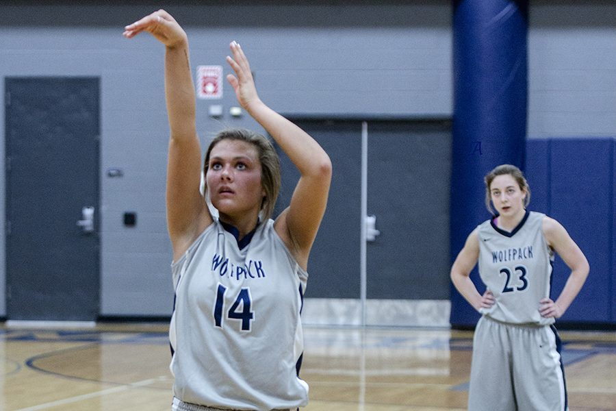 Rachel Slaney averages 25.2 points a game for the Madison College women's basketball team. Last season, she earned honorable mention all-American honors.