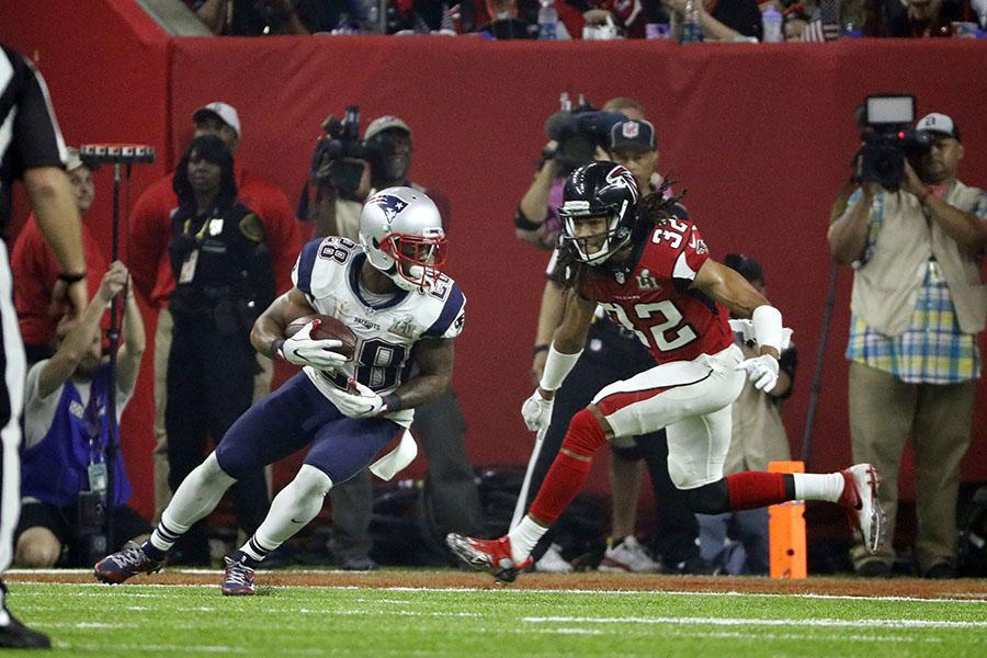 Super Bowl Li New England Patriots Vs Atlanta Falcons