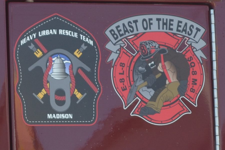 """Station 8, the one nearest Madison College, has a logo proclaiming the station """"The Beast of the East,"""""""