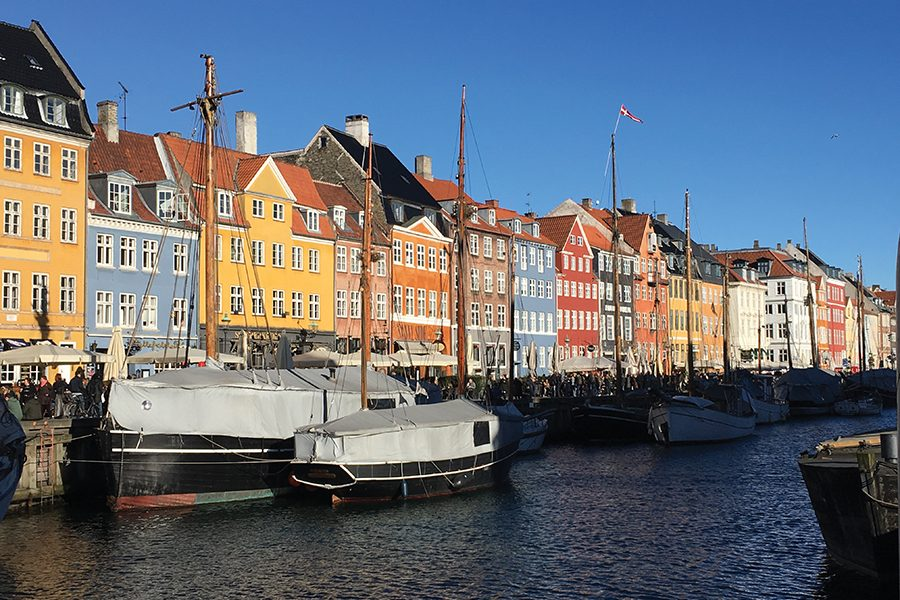 Madison College's global entrepreneurship class visited Denmark on a study abroad trip over spring break, visiting several Danish communities.