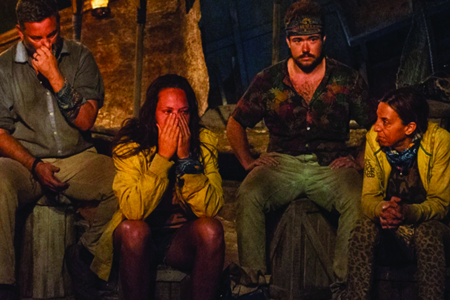 Outing someone else, as Jeff Varner (left) did to Zeke Smith (right) on Survivor, should be seen as an act of violence.