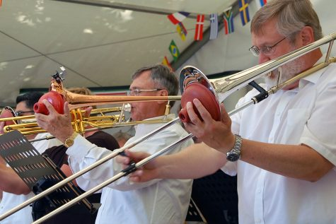 Big Band goes to Germany: 24 member group plays at bi-annual Sister City Festival