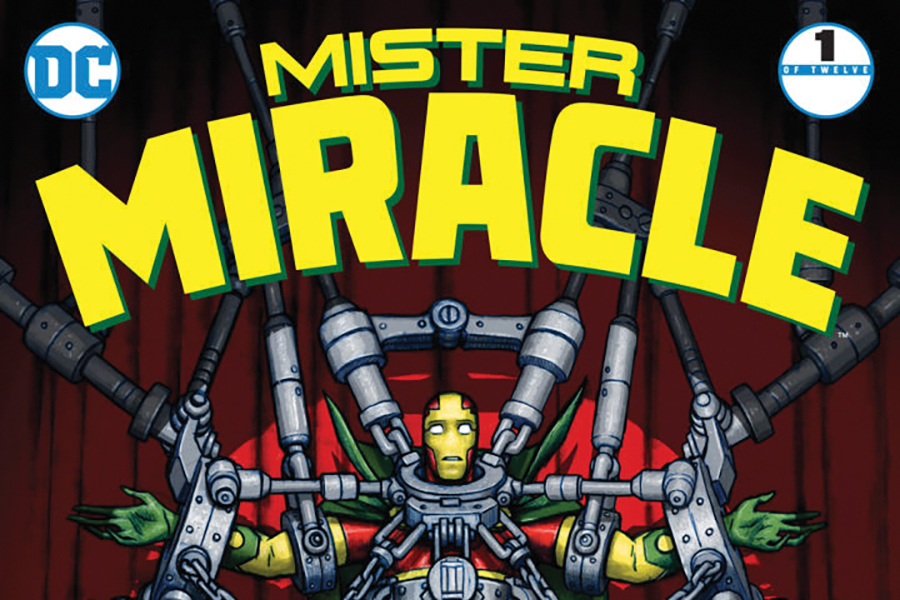 Finding the man in a god: 'Mister Miracle #1' review