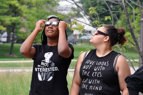 All eyes were on the skies  for the eclipse