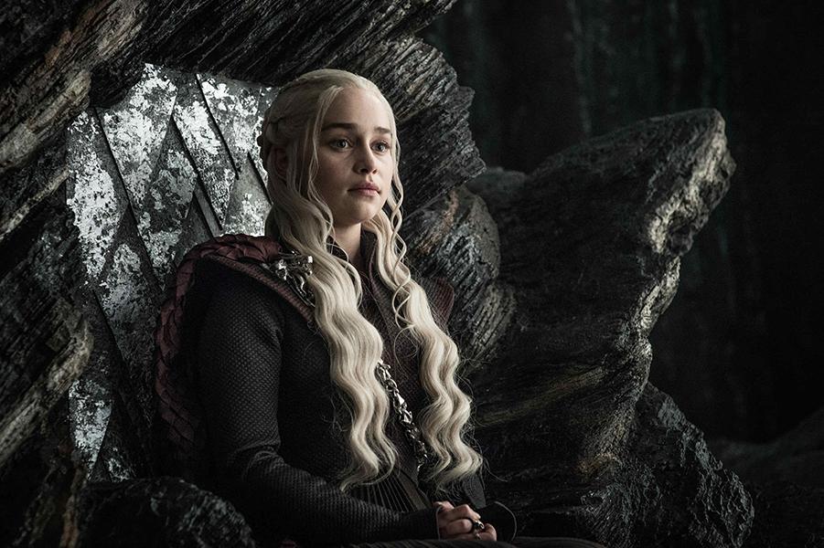 Deanerys Targaryen is played by Emilia Clarke.
