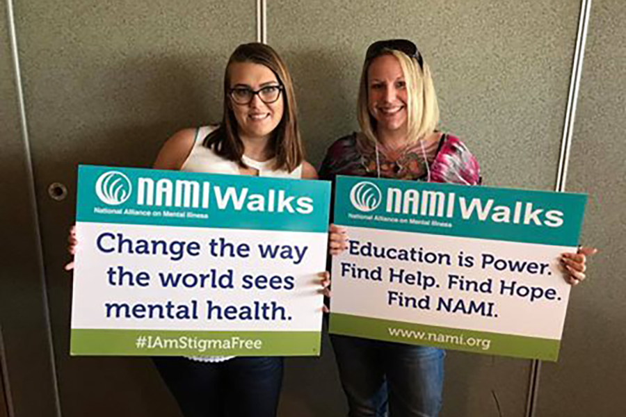 Students and staff from Madison College have participated in the walk for the National Alliance on Mental Illness