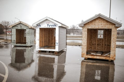 Creating tiny homes gives students a taste of eco-friendly construction