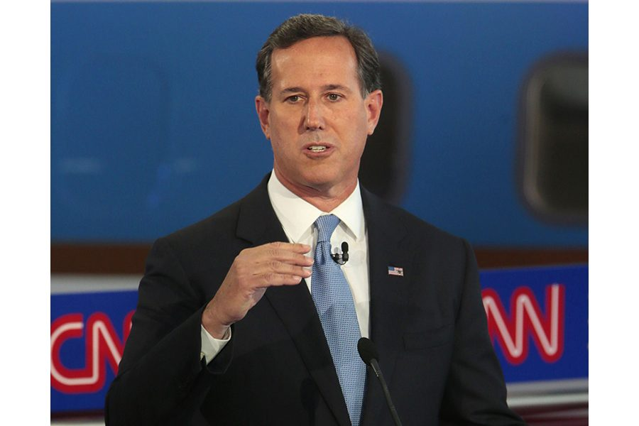 Former Republican Senator and presidential candidate Rick Santorum has been widely rebuked for his initial reaction to the student-led gun violence protests held earlier this year.