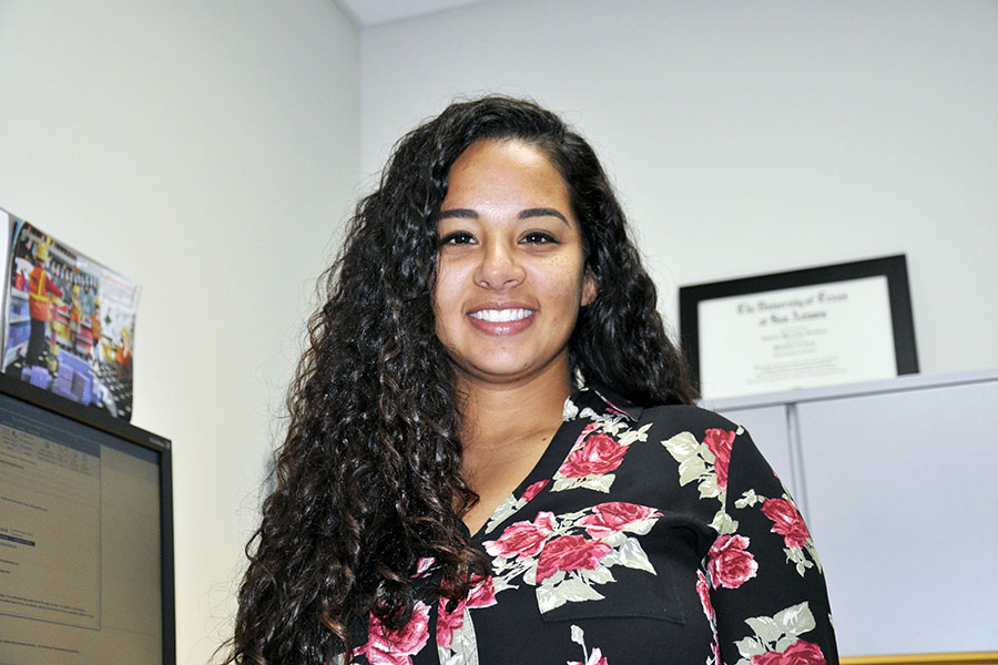 Candace Cardoza is the new Programs and Activities and Clubs advisor at Madison College.