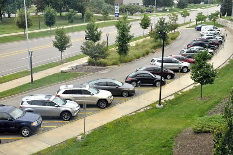 Metered parking lots at the Truax Campus are meant for short-term visitors. Students should use the main lots.