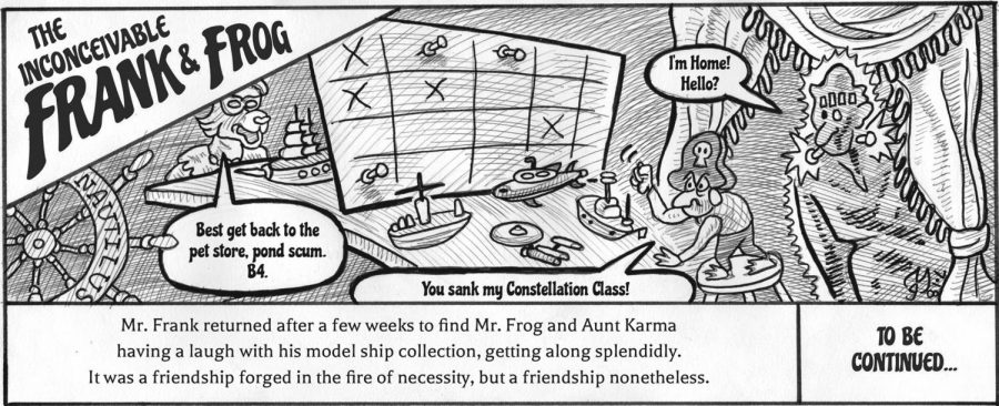 The Inconceivable Frank and Frog play Battleship