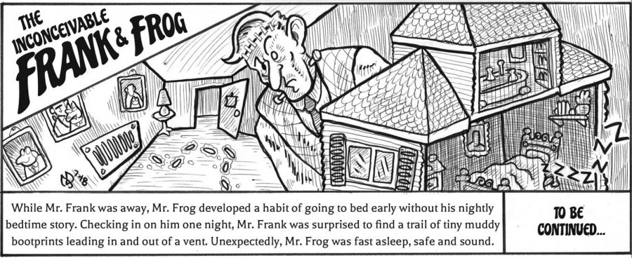The Inconceivable Frank and Frog comic