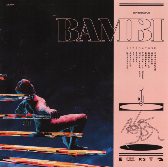 """Bambi"" is a new album by Minnesota indie rock band Hippo Campus."