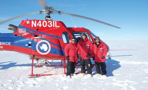 Instructor shares experiences working at Antarctic station