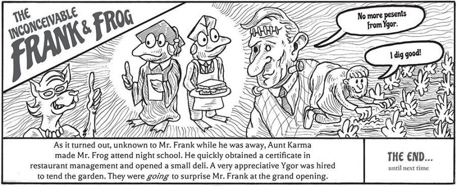 The Inconceivable Frank & Frog / #8