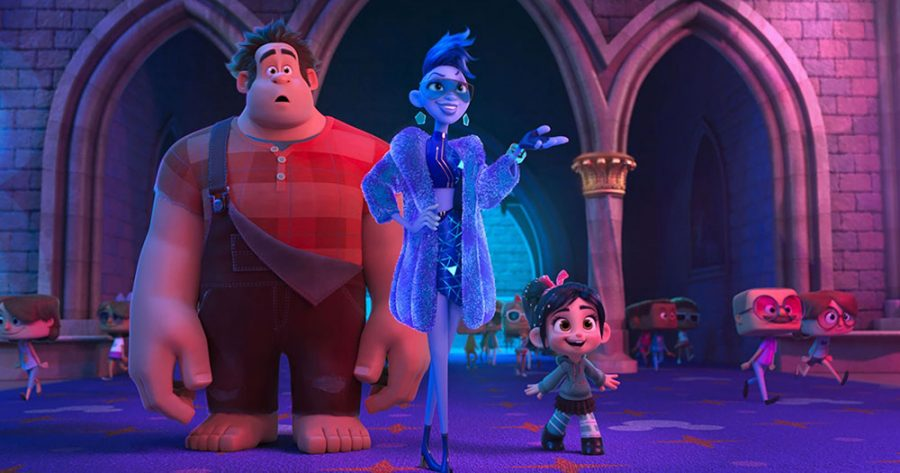 """Wreck It Ralph 2: Ralph Breaks the Internet"" was a playful romp through popular culture, but still had a plot."