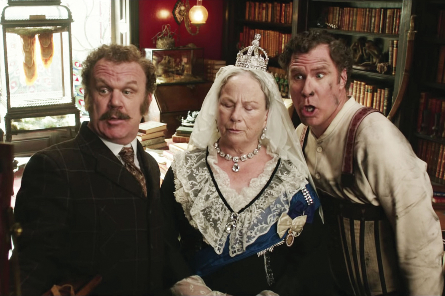 """John C. Reilly and Will Farrell star in the movie, """"Holmes & Watson."""""""