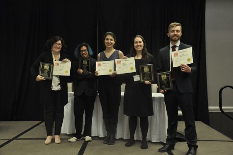 The Clarion receives 18 awards from the Wisconsin College Media Association
