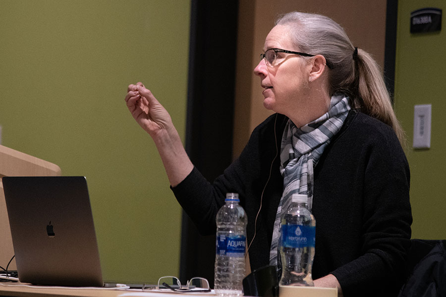 Adobe Evangelist Julieanne Kost presented at Madison College on April 2