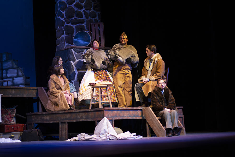 """Madison College Performing Arts has one more weekend left for its production of """"The Lion, the Witch, and the Wardrobe."""""""