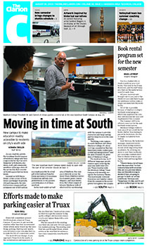 The cover of the Aug. 30, 2019, issue of The Clarion