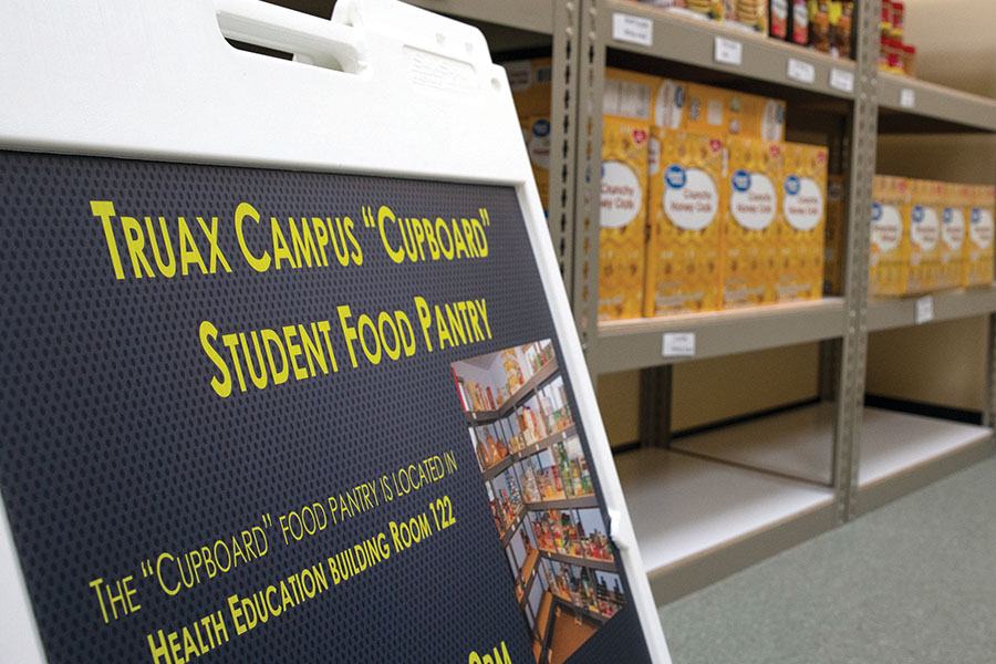 Madison College is working with Second Harvest Food Bank to open a pantry on campus. Called the Cupboard, it will open on Sept. 17 in Room 122 of the Health Education Building at the Truax Campus.