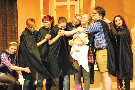 "Madison College Performing Arts is putting on the play, ""Puffs,"" on Oct. 30-Nov. 3, in Mitby Theater."