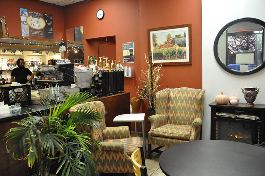 The Steep & Brew hosts a comfy and cozy environment for one to enjoy their coffee.