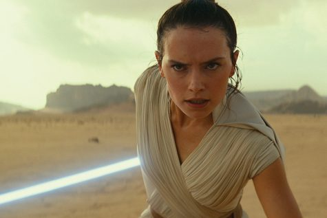 "This image released by Disney/Lucasfilm shows Daisy Ridley as Rey in a scene from ""Star Wars: The Rise of Skywalker."""