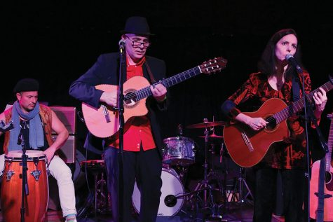 Dave Irwin and Helen Avakian perform at the High Noon Saloon on Feb. 22