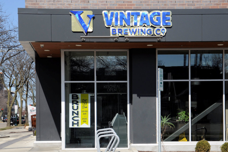 Vintage Brewing Company in downtown Madison is one of many services that have been closed during the COVID-19 pandemic. Students who rely on the service industry for their income are feeling the financial pinch.