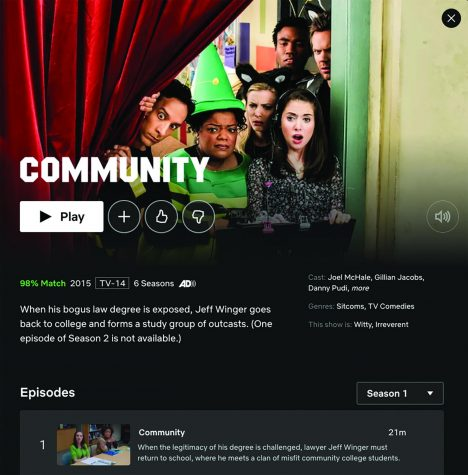"""Community"" portrays some aspects of going to a community college, but with a fun twist."