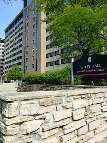Witte Hall is one of two UW-Madison student dorms that were put under quarantine for two weeks.
