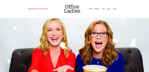 """The Office Ladies"" is a podcast hosted by Jenna Fischer, right, and Angela Kinsey, left, each week, the two co-stars from ""The Office"" break down an episode of the show and provide behind-the-scenes information for listeners."
