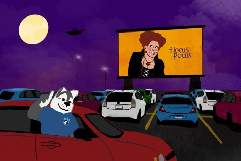 PAC Brings Drive-In Movie Night to Campus
