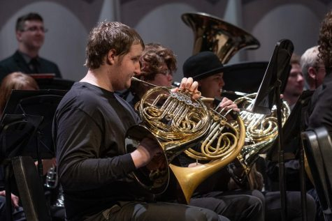 In person performance by Madison College music ensambles like the one pictured above can't currently happen because of COVID-19 pandemic, so the college's music department is developing other ways for students to stay engaged in the activities they enjoy.
