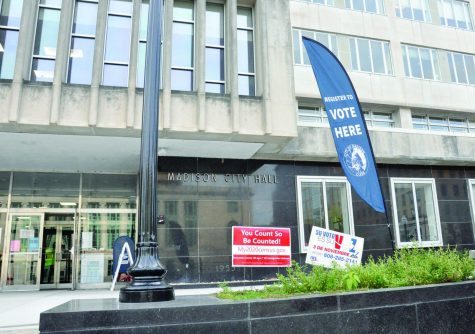 Madison voters can do in-person registration and cast their absentee ballots at the Madison City Hall building.