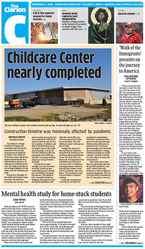 Clarion Cover 11-11-20