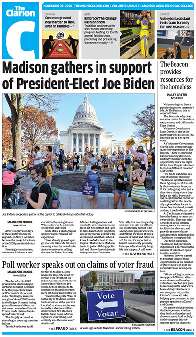 Clarion cover 11-25-20