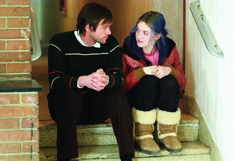"Jim Carrey and Kate Winslet star in ""Eternal Sunshine of the Spotless Mind."""