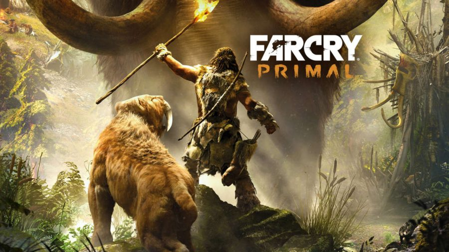 "Screenshot of the ""Far Cry Primal"" website."
