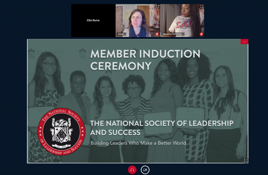Screenshots+from+the+NSLS+induction+ceremony.