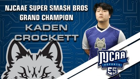Kaden Crockett wins college's first ESports title.