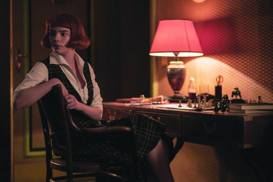 """Anya Taylor-Joy stars in """"The Queen's Gambit,"""" on Netflix."""