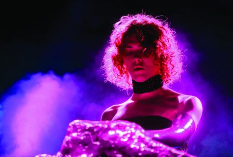 Sophie performs during the Coachella Valley Music And Arts Festival on April 19, 2019, in Indio, California.