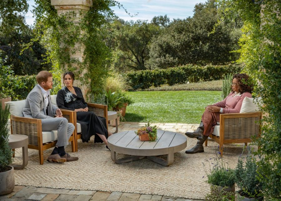 Prince Harry and Meghan Markle sit down for an interview with Oprah Winfrey.